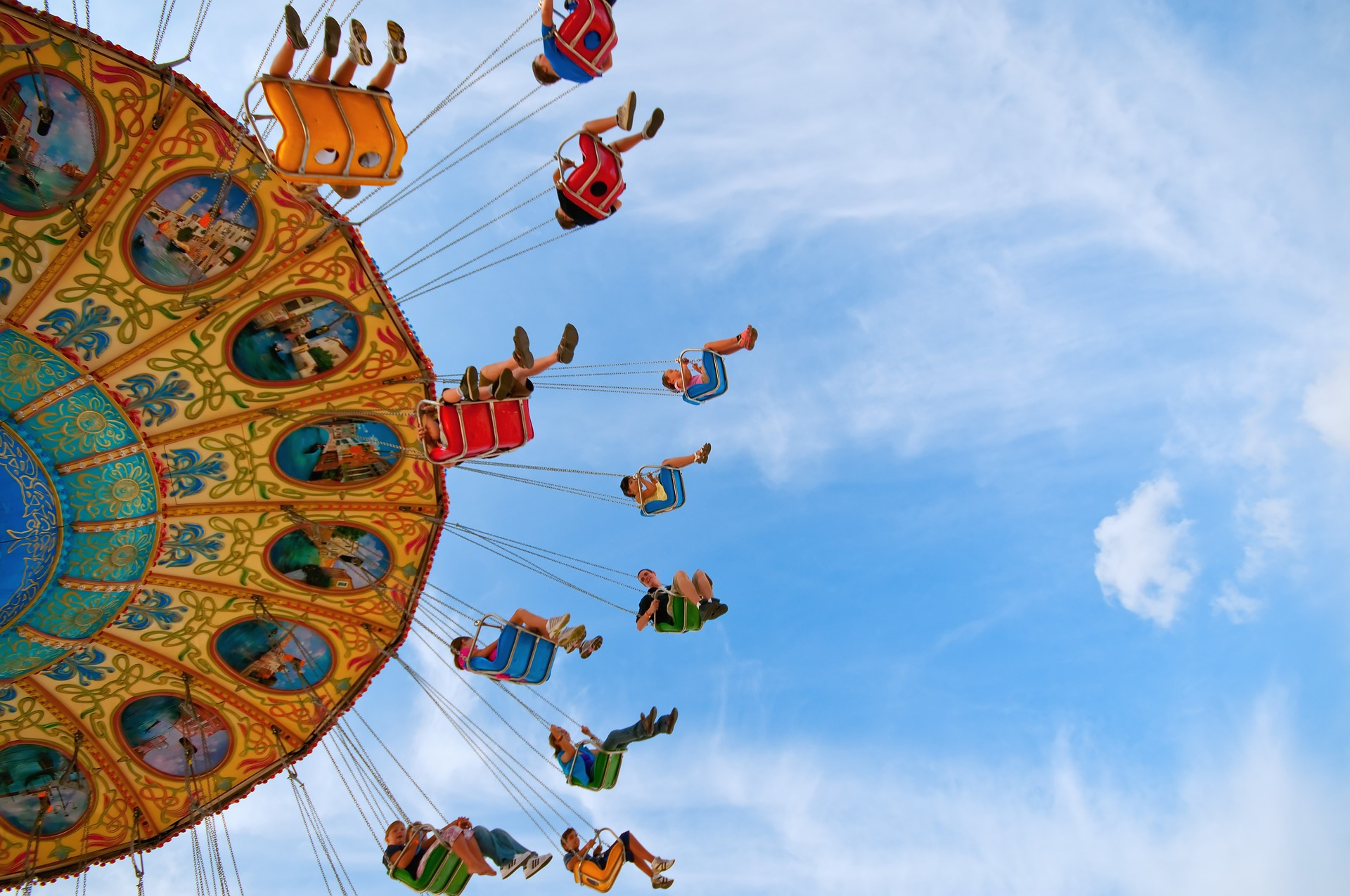 The Ultimate In Fair Ground Thrills At The Leeds Show